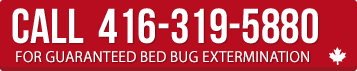 Call for Guaranteed Bed Bug Extermination