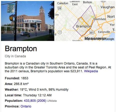Brampton Ontario Canada