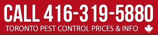 Call toronto pest control prices
